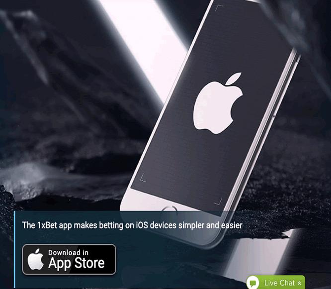 móvil para iOS 1xBet
